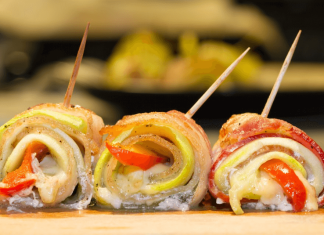 Wrap Rolls With Vegetables