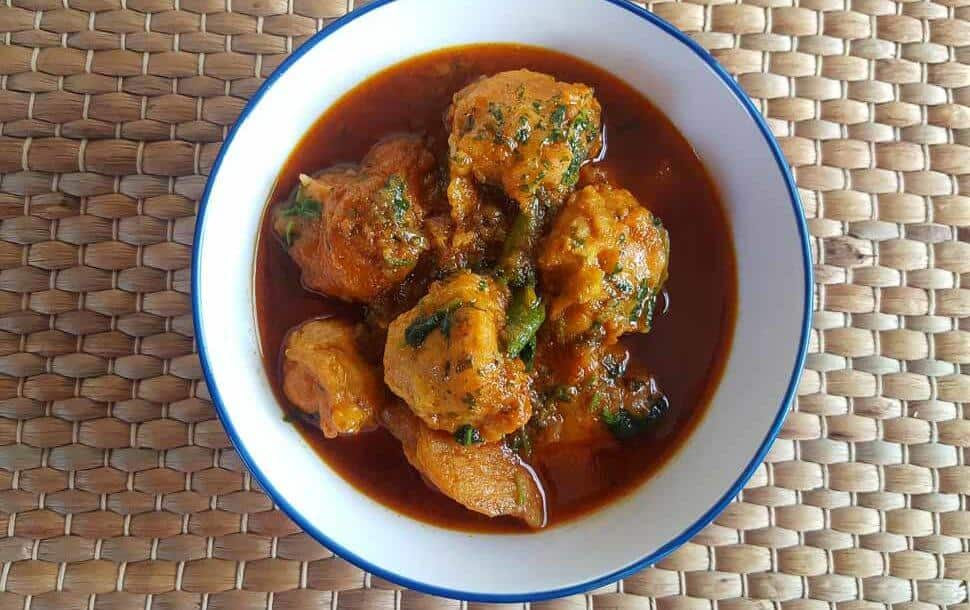 Fish Kofta – Spicy Fish Balls With Coconut Milk And Spices