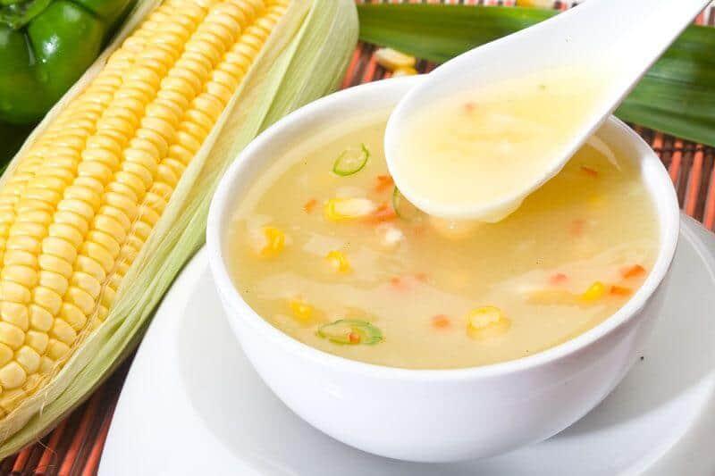 Sweet Corn Soup Recipe