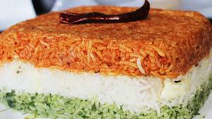 layered rice