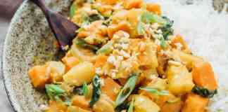 Pineapple And Potato Curry