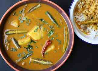 Mixed Vegetable Kadhi
