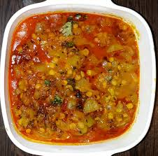 Bottle Gourd+Bengal Gram Curry