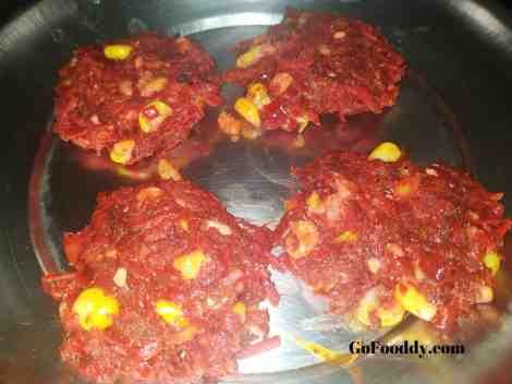 mix veggie fritter