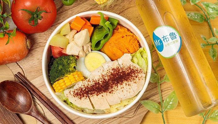 Mr. 布魯-水煮健康餐|新莊餐盒|最少熱量 X 最大美味