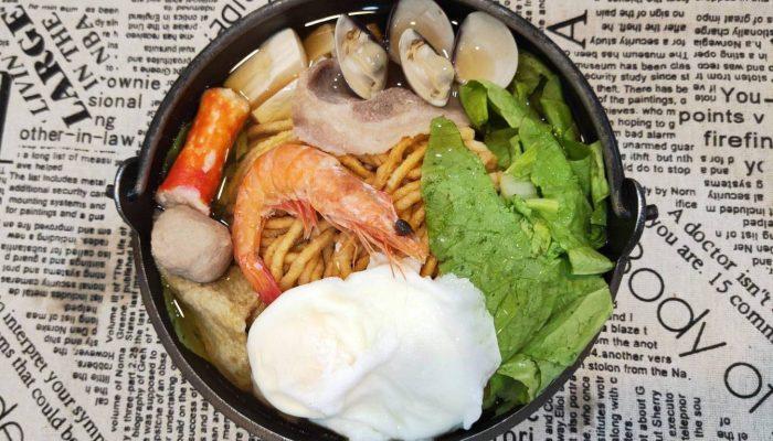 麵寶寶鍋燒麵 樹林美食 鍋燒麵廣東粥 高CP值小吃