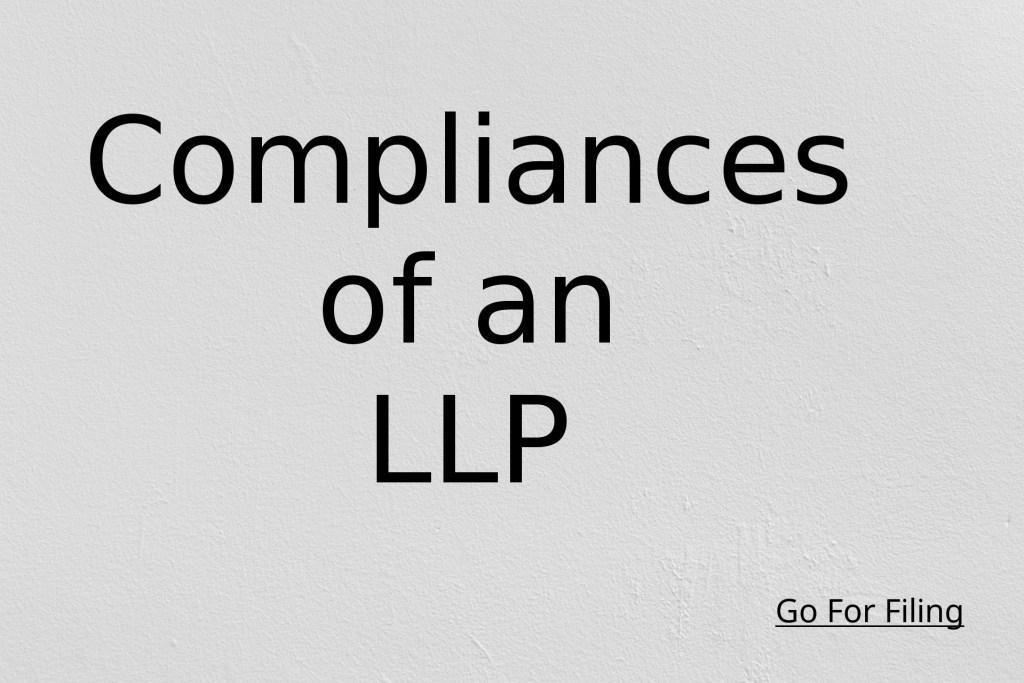 Compliances of an LLP