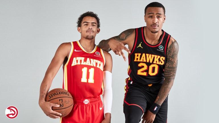 2021 ATL Hawks Trae John