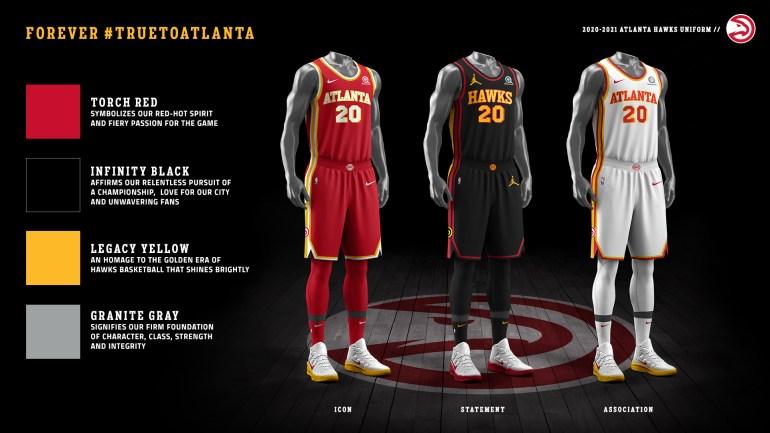 2021 ATL Hawks Uniform Colorway
