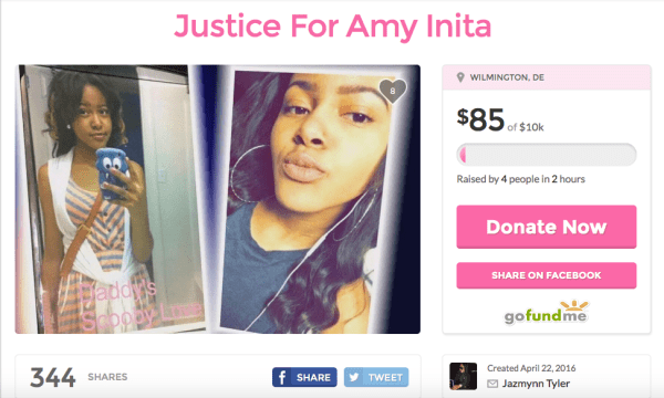 Amy Joyner fake GoFundMe
