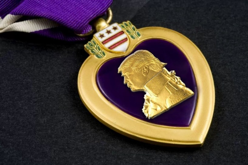 Trump Purple Heart