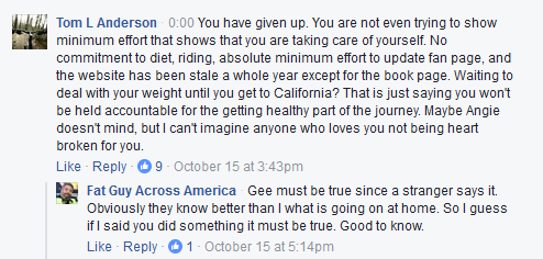 Fat Guy Across America Facebook