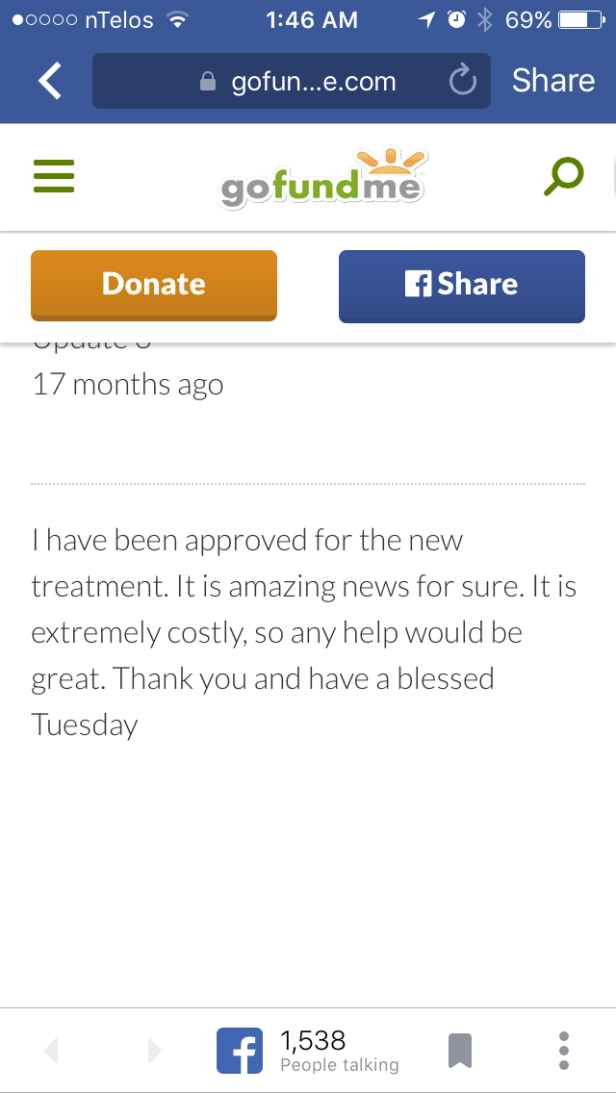 Amber Buskirk update