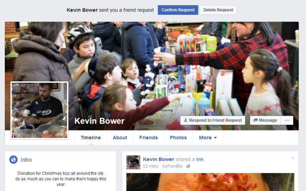 Kevin Bower Facebook