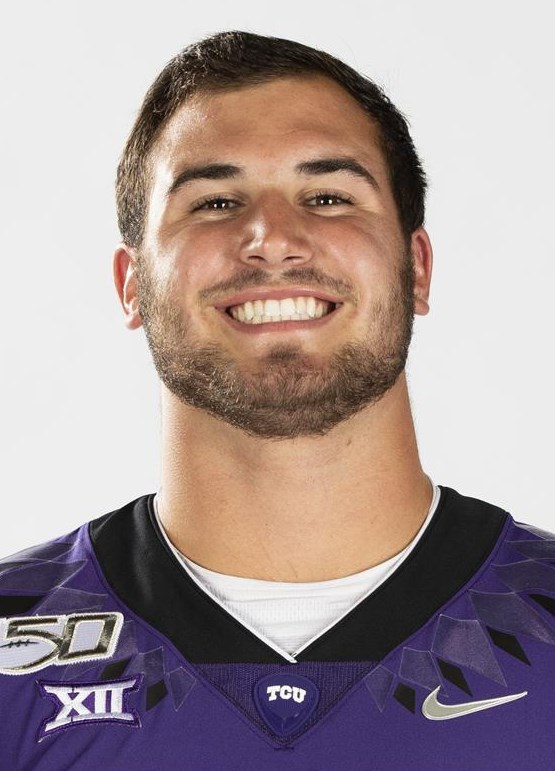 Texas Christian University Football #36 Brent Matiscih photographed at TCU in Fort Worth, Texas on July 24, 2019. (Photo/Sharon Ellman)    TCU Football Contact Mark Cohen m.cohen@tcu.edu