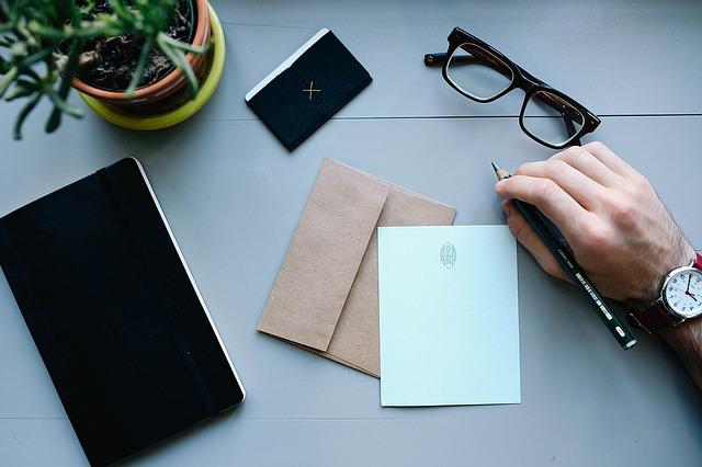 苦情の手紙を書く