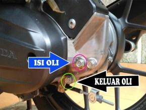 Cara mengganti oli gardan sendiri vario techno 125
