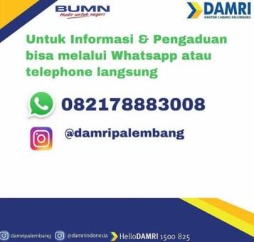 Jadwal Damri dari Palembang ke Prabumulih2