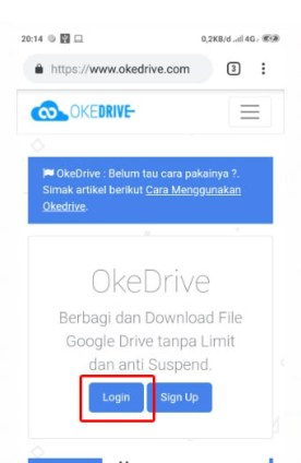 mengatasi limit google drive di android