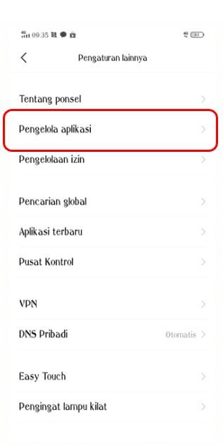 Cara log out dari aplikasi LINE di Android3