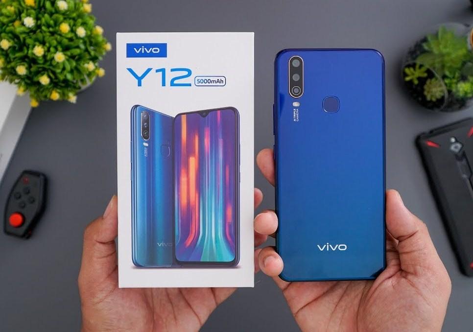 Vivo y12 merupakan ponsel besutan vivo yang dirilis pada juni 2019. harga vivo y12 seken   Gogandul.com