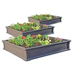 Lifetime Raised Garden Bed, Pack of 3