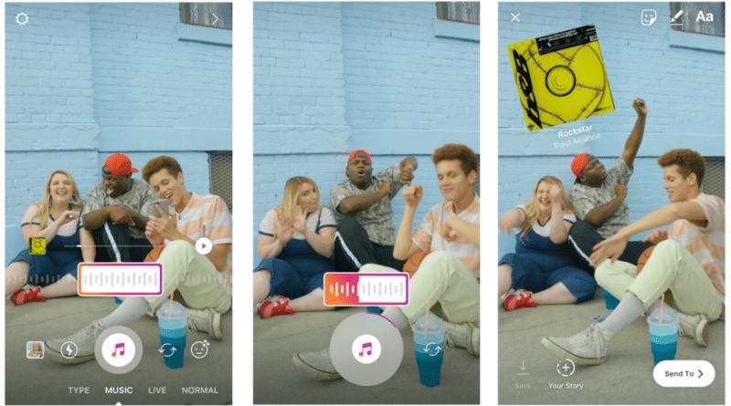 come mettere la musica nelle storie instagram