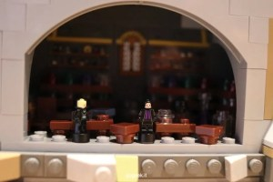 castello hogwarts lego aule e stanze