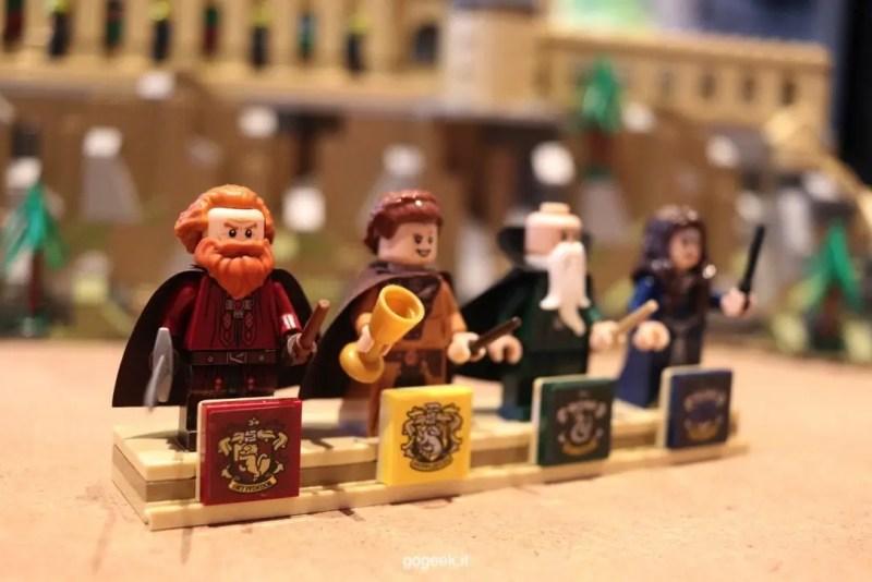castello hogwarts minifigure lego