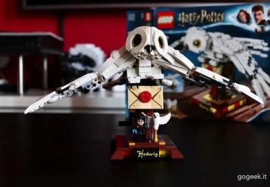 recensione lego Harry Potter Edvige