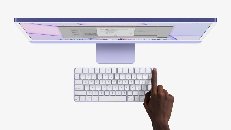 nuovi iMac tastiera colori