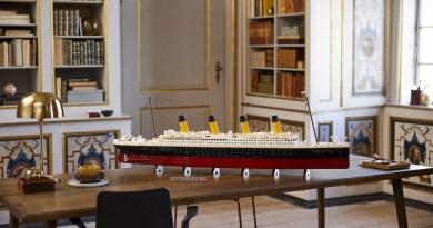 LEGO presenta il colossale set del TITANIC