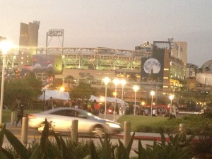 Even Petco park becomes part of SDCC (more and more each year)