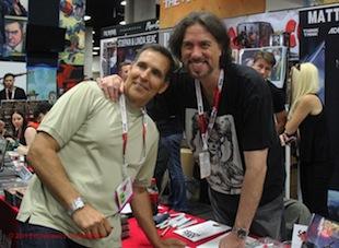 San Diego Comic-Con - Marc Silvestri and Todd McFarlane