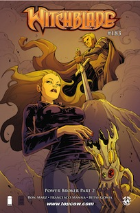 Witchblade 183 cover A