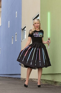 Her Universe D23 2015 - Star Wars Light Saber dress