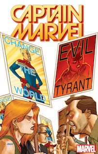 Captain Marvel #1 by Dave Johnson