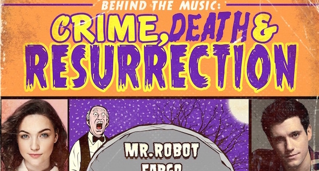 SDCC16 - Behind the Music Crime, Death and Resurrection