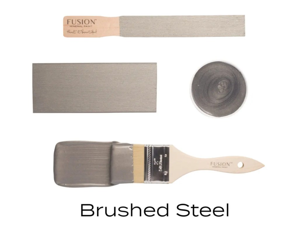 Fusion Mineral Paint Brushed Steel Fall Colors