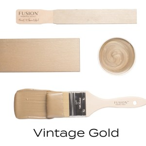 Fusion Mineral Paint Vintage Gold Metallic