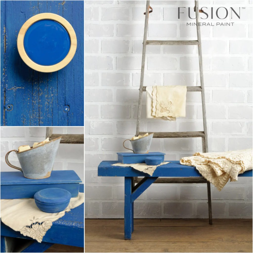 Fusion Mineral Paint Liberty Blue