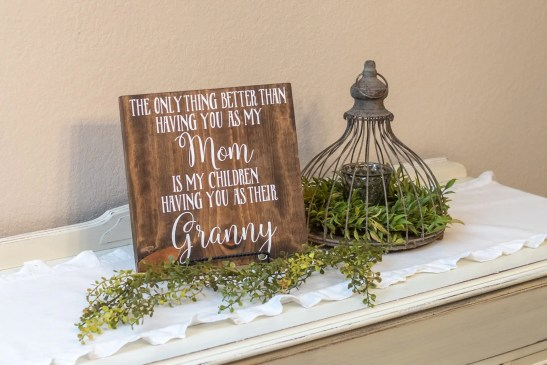 Mothers Day Wooden Sign