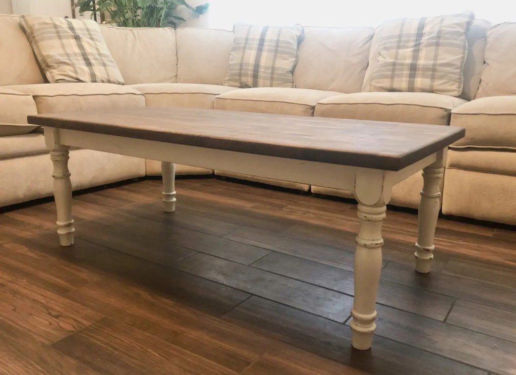Wood Stain Coffee Table
