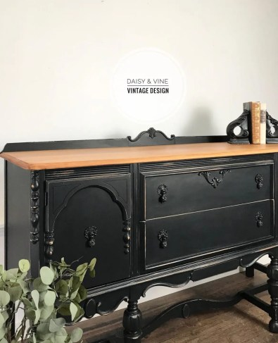 Bold Furniture Colors Fusion Mineral Paint Coal Black