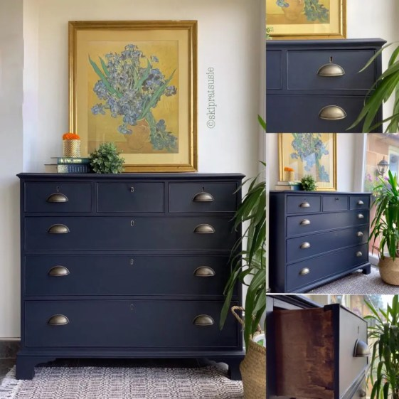 Bold Furniture Colors Fusion Mineral Paint Midnight Blue