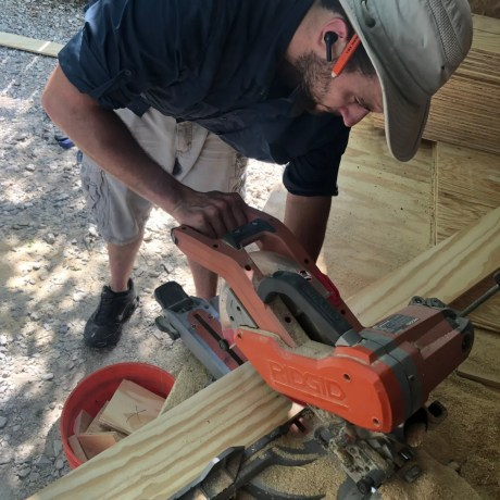 Cutting Plywood for Floors