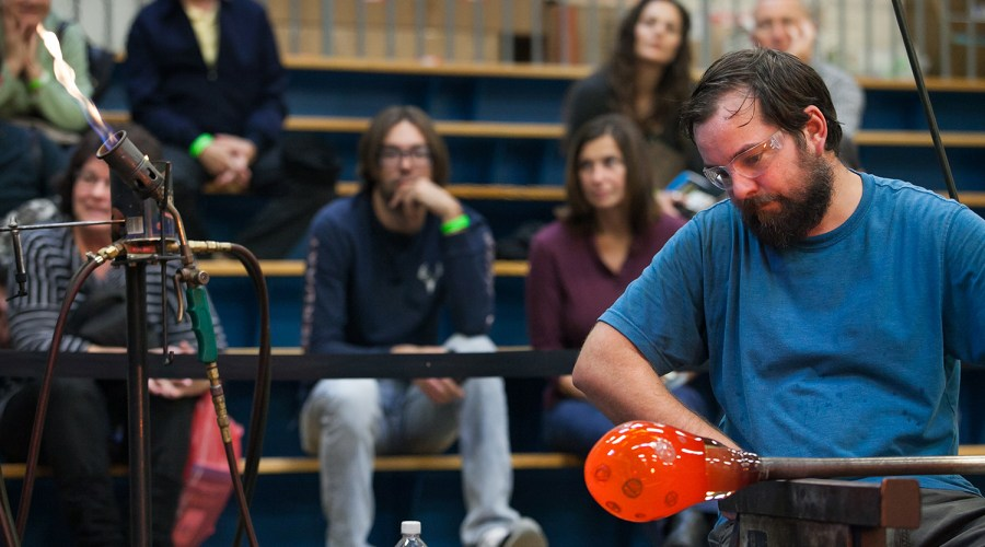 Event_Arts Festival Reading_Hot Glass Demo