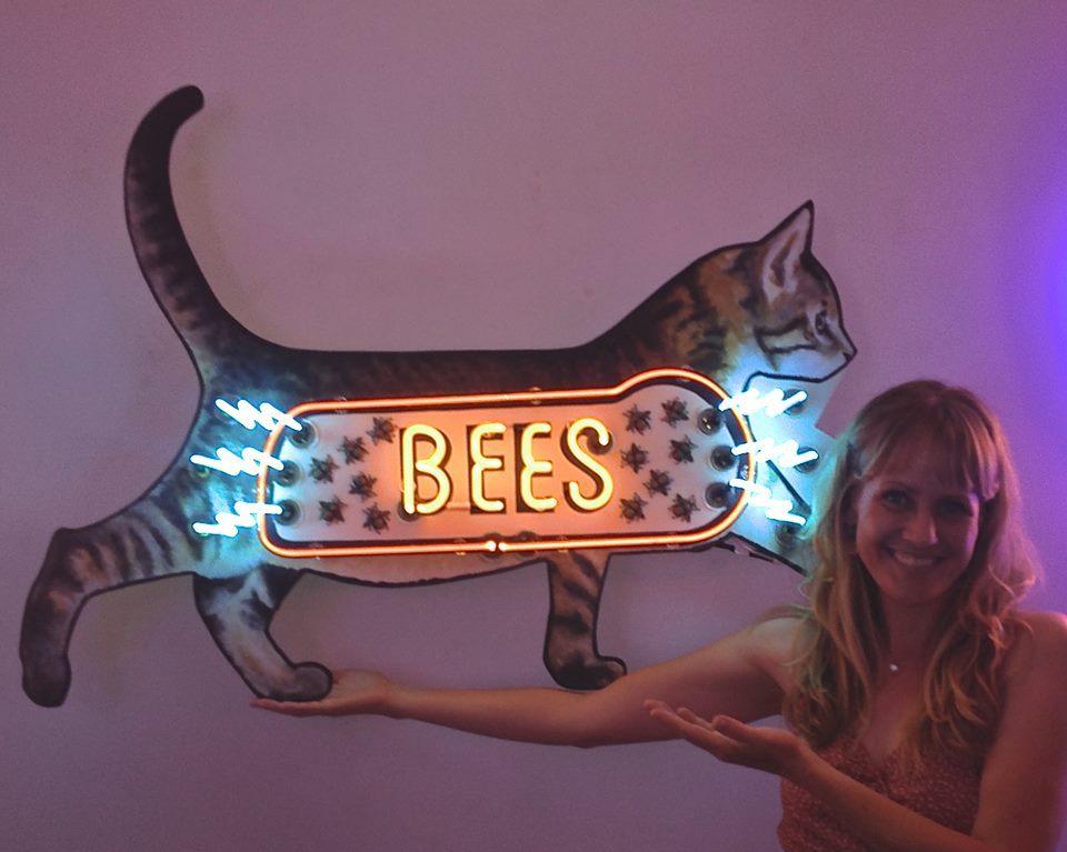 AlyssaBeth Archambault_neon bees