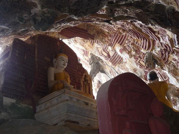 Kok Goon Höhle bei Hpa-An