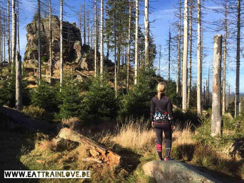 Trail-Running Kaiserweg Halt